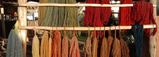 Dyed Fiber and Yarn